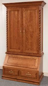 Gun Cabinet Specifications Solid Wood Gun Cabinet With Deer Design