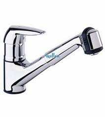 grohe kitchen faucets grohe 33330000 eurodisc low profile pull out with dual spray