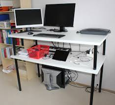 Stand Up Desk Ikea by Linnmon Adils Standing Desk Ikea Hackers Ikea Hackers