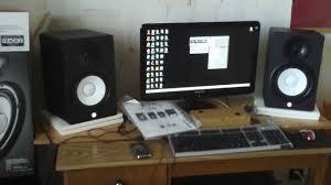 yamaha hs 7 powered studio monitor unboxing youtube