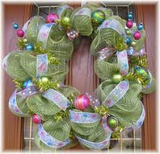 christmas mesh wreaths green deco mesh wreath for any occasion