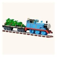 hallmark 2008 tank engine ornament on track