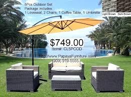 Patio Furniture Set With Umbrella Patio Furniture Sets With Umbrella Patio Dining Area With Large