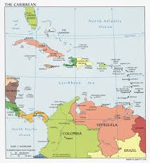 Map Of St Martin Map Of Caribbean Countries And Their Capitals You Can See A Map
