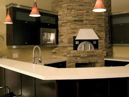 Espresso Kitchen Cabinets Espresso Cabinet Ideas With Bar Stool And Chandelier And Kitchen