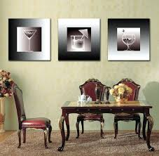 hanging canvas art without frame hanging glass art wall decor cups modern canvas art wall decor