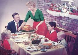 thanksgiving family dinner pictures vintage postcards vintage postcard christmas family holiday