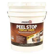 shop zinsser peel stop triple thick interior exterior latex primer