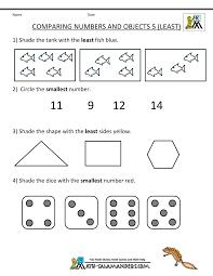 kindergarten number worksheet worksheets