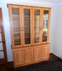 solid oak china cabinet day and knight solid oak display cabinet