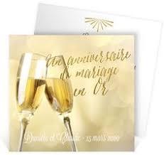 poeme 50 ans de mariage noces d or carte invitation anniversaire mariage noces d or photo grsc 57