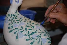 file porches pottery algarve painting bird jpg