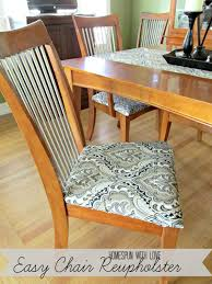 miss danielle renee diy reupholstered dining room chairs homespun