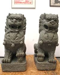 fu dog statues for sale 3ft large foo dog lion statues buddhist temple imperial palace fu