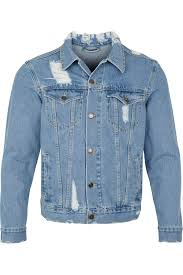 light distressed denim jacket distressed denim jacket light visionary