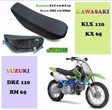 for klx110 kx65 plastic fender complete fairing gas tank seat