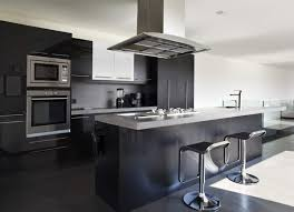 High Gloss Black Kitchen Cabinets by Modular Kitchen Modular Kitchen Cabinets