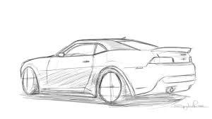 drawing a 2014 camaro z28 youtube
