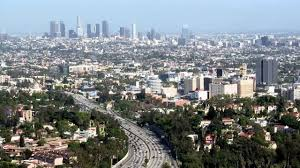 Traffic Map Los Angeles by Traffic Rush In Los Angeles Downtown Time Lapse Youtube