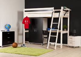 teenage bunk beds with desk black and white bunk bed with desk kids room recous