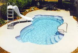 Backyard Pool Cost by Fiberglass Inground Pools One Piece Installation Cost And Prices