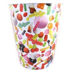 poubelle chambre ado poubelle métal haribo tutti frutti bonbons en vrac