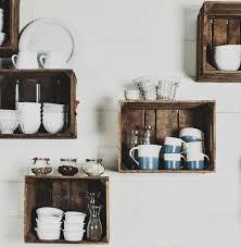 cuisine diy diy recycler une caisse en bois deco en 40 idées archzine fr