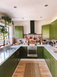 spray painting kitchen cabinets scotland i gave my boring beige kitchen a total makeover by painting