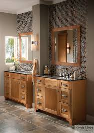 Kraftmaid Bathroom Cabinets Kraftmaid Maple Square Recessed Panel Door In Praline