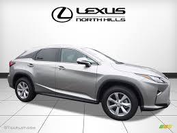 metallic lexus 2017 silver lining metallic lexus rx 350 awd 119090459 gtcarlot
