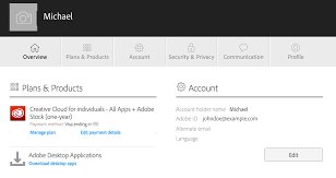 Adobe Plans Sign In To Your Adobe Id Account With Your Facebook Or Google