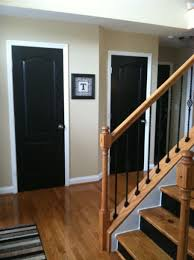 How To Paint Interior Doors by Black Interior Doors Perform Cool Doors Designoursign