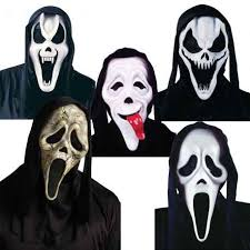 Halloween Costumes Scream Mask Mask Scream Funny Faces Nla Party