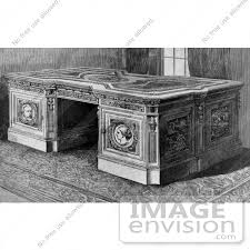 Resolute Desk Stock Illustration Of The Resolute Desk Which Is A Partner U0027s Desk