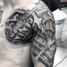 70 cool chest tattoos for masculine ink design ideas chest