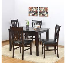 buy nilkamal texas 4 seater dining set brown online at home