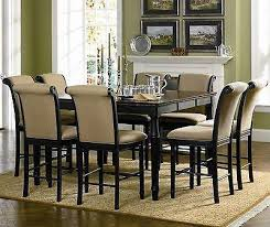 black dining room table set cabrillo counter height black dining room table set atlantic