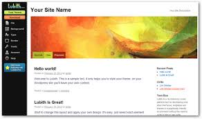 wordpress theme editor gone use lubith to create your own wordpress theme without coding knowledge