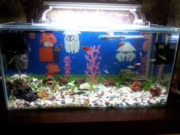 Super Mario Home Decor 8ft X 2ft Fish Tank On Stand With Sump Accessories At Idolza