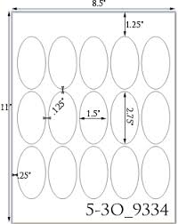 1 2 x 2 3 4 oval brown kraft label sheetusually ships same day