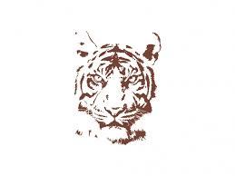 tiger vector file logowik com