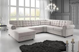canapé d angle capitonné genova royal comfort