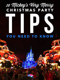 mickey u0027s very merry christmas party tips you need to know
