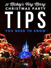 mickey u0027s merry christmas party tips