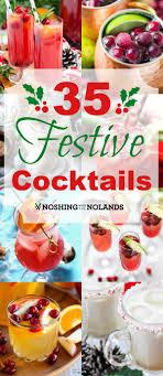 35 festive cocktails collage custom jpg