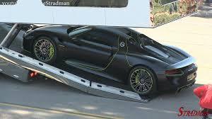 unloading a million dollar supercar the tron porsche 918 spyder