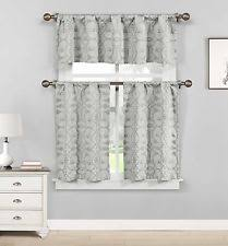 Cafe Tier Curtains French Country Floral Cafe Tier Curtains Ebay