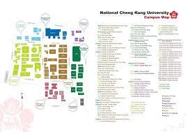 University Of Oregon Map by Campus Map Ncku National Cheng Kung University News Center