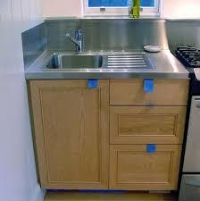 kitchen sinks new small kitchen sink cabinet free standing