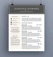 Cv Resume Example Modern Resume Template Resume Pinterest Modern Resume